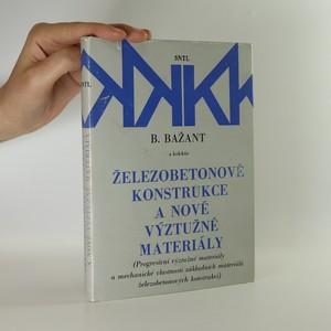 náhled knihy - Železobetonové konstrukce a nové výztužné materiály