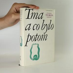 náhled knihy - Tma a co bylo potom