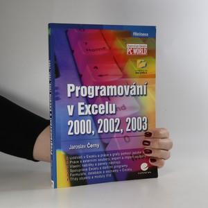 náhled knihy - Programování v Excelu 2000, 2002, 2003