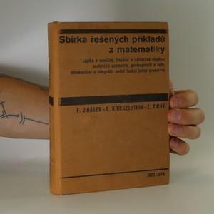 náhled knihy - Sbirka řešených příkladů z matematiky (1. díl)