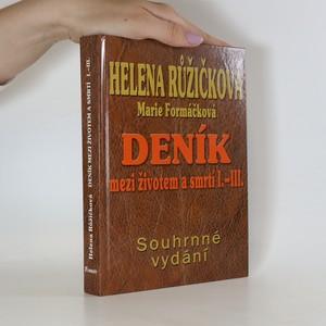 náhled knihy - Deník mezi životem a smrtí I.-III. Souhrnné vydání