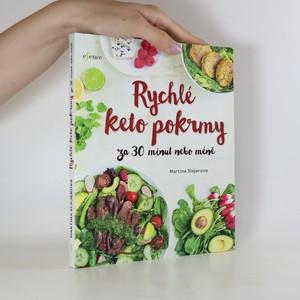 náhled knihy - Rychlé keto pokrmy za 30 minut nebo méně