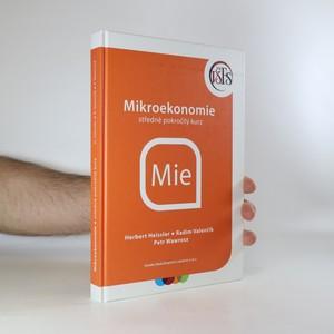 náhled knihy - Mikroekonomie. Středně pokročilý kurz (věnování autora?)