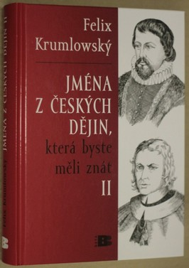 náhled knihy - Jména z českých dějin, která byste měli znát II. díl