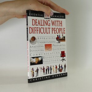náhled knihy - Dealing with difficult people