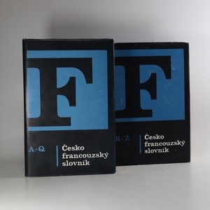 náhled knihy - Česko-francouzský slovník (2 svazky)