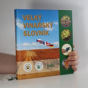 náhled knihy - Velký vinařský slovník