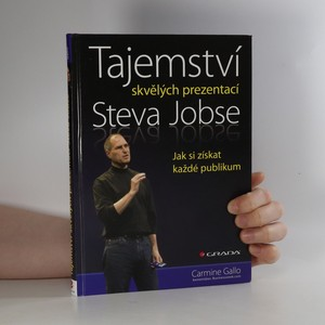 náhled knihy - Tajemství skvělých prezentací Steva Jobse
