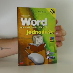 náhled knihy - Microsoft Word pro verze 2002, 2000 a 97 jednoduše