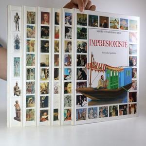 náhled knihy - 6x Mistři výtvarného umění. (6 svazků, viz foto)