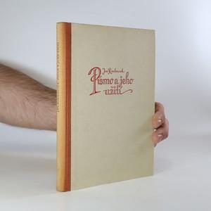 náhled knihy - Písmo a jeho užití