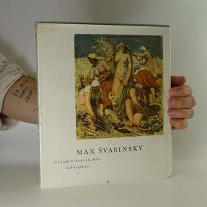 náhled knihy - Max Švabinský. Der große tschechische Maler und Graphiker