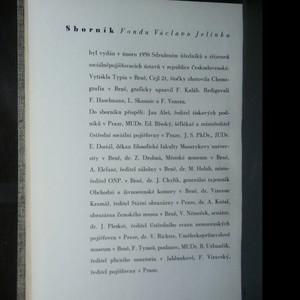 antikvární kniha Fond Václava Jelínka. Sborník k šedesátinám Václava Jelínka, 1938