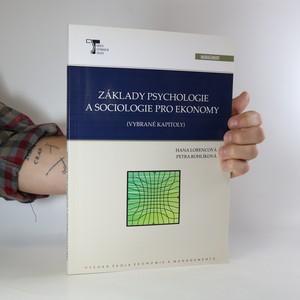 náhled knihy - Základy psychologie a sociologie pro ekonomy
