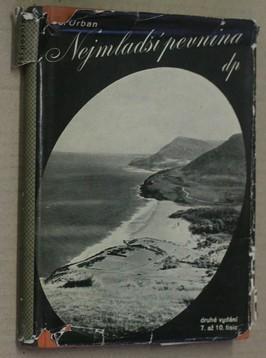 náhled knihy - Nejmladší pevnina : román