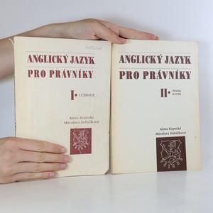náhled knihy - Anglický jazyk pro právníky I.II. díl (2 svazky)