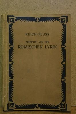 náhled knihy - romischen lyrik