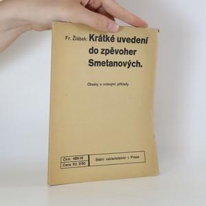 náhled knihy - Krátké uvedení do zpěvoher Smetanových