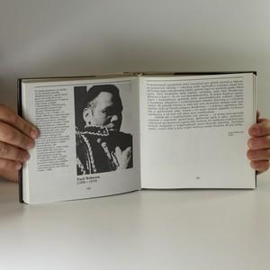 antikvární kniha Masky a tváře černé Ameriky, 1985