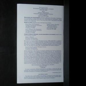 antikvární kniha Journal of the Evangelical Theological Society vol. 48, díly 1-4 (4 svazky), neuveden