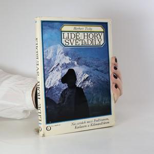 náhled knihy - Lidé, hory, světadíly. Na cestách mezi Fudžisanem, Kailasem a Kilimandžárem