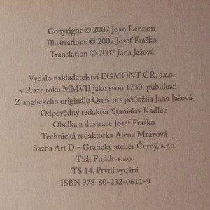 antikvární kniha Pátrači, 2007