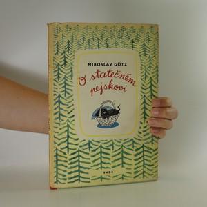 náhled knihy - O statečném pejskovi (kniha je cítit kouřem)