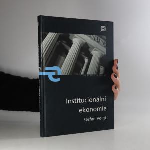 náhled knihy - Institucionální ekonomie