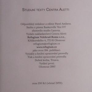 antikvární kniha Fórum Velehrad. Communio ecclesiarum. Očištění paměti (1. díl), 2007