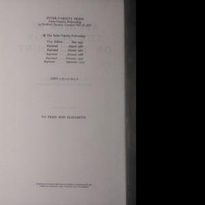 antikvární kniha Studies in the sermon on the mount (1.-2. díl), 1972