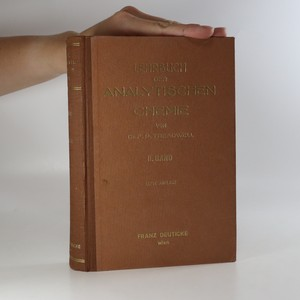 náhled knihy - Lehrbuch der analytischen chemie in zwei bänden