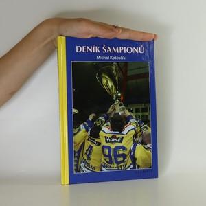 náhled knihy - Deník šampionů