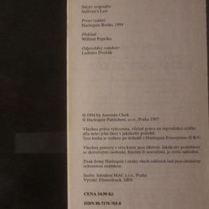 antikvární kniha Sullivanův zákon, neuveden