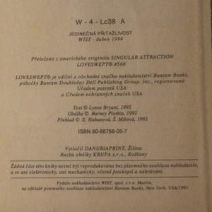 antikvární kniha Jedinečná přitažlivost, 1994