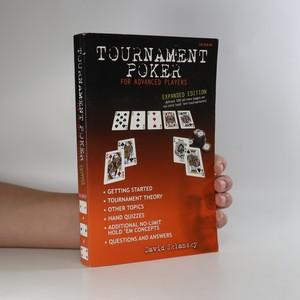 náhled knihy - Tournament Poker for Advanced Players