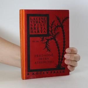 náhled knihy - Předkové Petra Atherlyho a jiné povídky