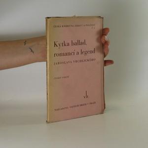 náhled knihy - Kytka ballad romancí a legend