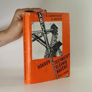 náhled knihy - Hokrův technický slovník naučný