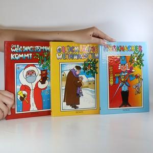 náhled knihy - Der Weihnachtsmann kommt. Glückliche Weihnachten. Der Nußknacker (pop-up leporela, 3 svazky)