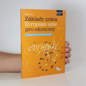náhled knihy - Základy práva Evropské unie pro ekonomy