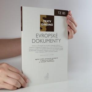 náhled knihy - Evropské dokumenty. Právní stav ke dni 15. října 2010