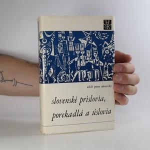 náhled knihy - Slovenské príslovia, porekadlá a úslovia