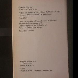 antikvární kniha Polepená oblaka, 1984