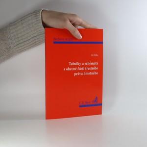 náhled knihy - Tabulky a schémata z obecné části trestního práva hmotného