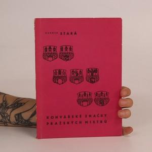 náhled knihy - Konvářské značky pražských mistrů