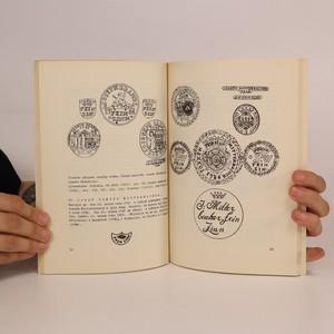 antikvární kniha Konvářské značky pražských mistrů, 1974