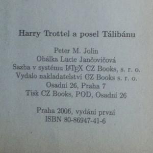 antikvární kniha Harry Trottel a posel Tálibánu, 2006