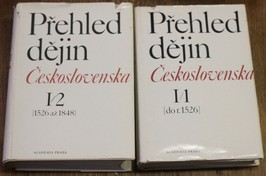 náhled knihy - Přehled dějin Československa ; redakce Jaroslav Purš, Miroslav Kropilák. Díl I. a II.