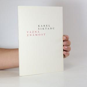 náhled knihy - Vážná známost