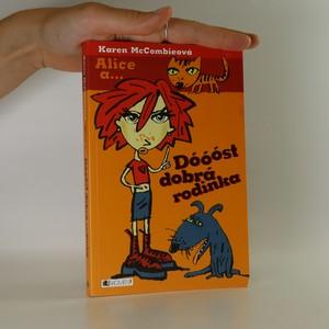 náhled knihy - Alice a... Dóóóst dobrá rodinka